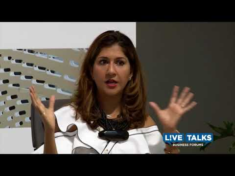 Nilofer Merchant in conversation with Justine Musk at Live Talks Business Forum