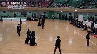 YAMANASHI vs NAGANO 10th All Japan Interprefecture Ladies KENDO Championship 2018 2nd Round