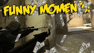 csgo funny moments 50 bet scary slender soldier insane 4k funtage