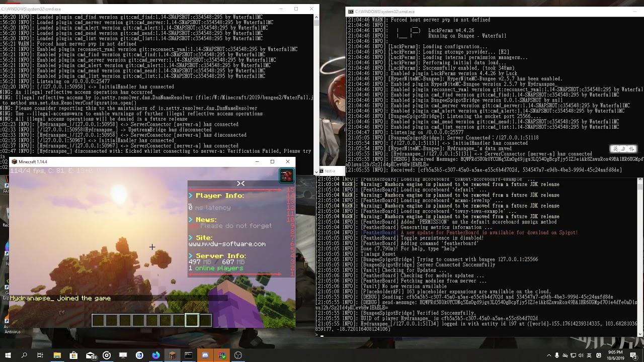 BungeeSpigotBridge  SpigotMC - High Performance Minecraft