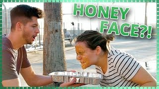 Honey Face Mask Challenge | Do It For The Dough w/ Ayydubs and Hunter March