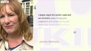 UKIP Janice Atkinson Calls Thai Constituent Ting Tong - 19/08/2014