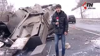 На окружной столкнулись молоковоз и легковушка - 16.03.2018