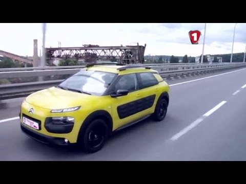 "Citroen C4 Cactus 2015 тест-драйв ""Первый тест"" (Ситроен Кактус)"