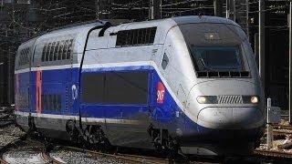 フランス版新幹線TGVとユーロスターの旅=南仏ニースからロンドンへ