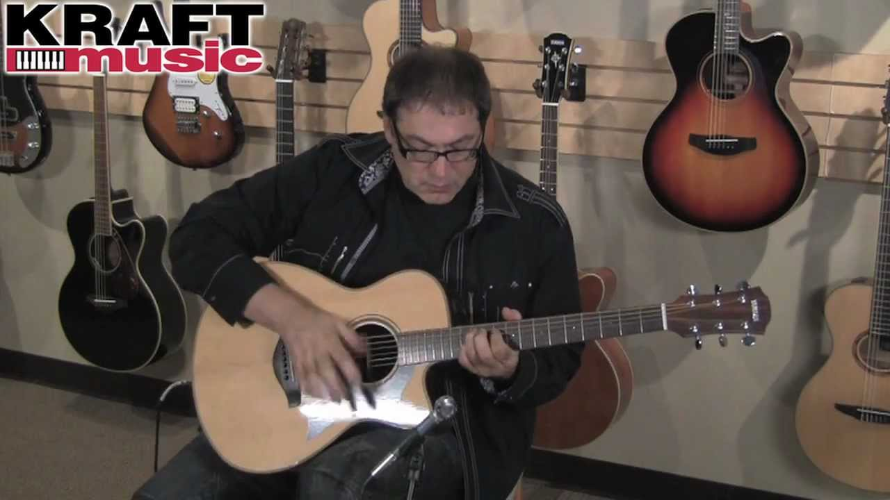 Kraft Music Yamaha Ac1 Acoustic Electric Guitar Demo With Don