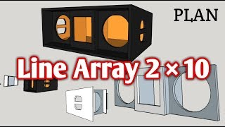 SKEMA BOX LINE ARRAY 2×10