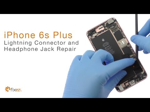 How To Repair Iphone 6s Plus Lightning Connector And