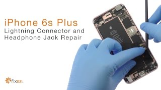 How to repair iPhone 6s Plus Lightning Connector and Headphone Jack