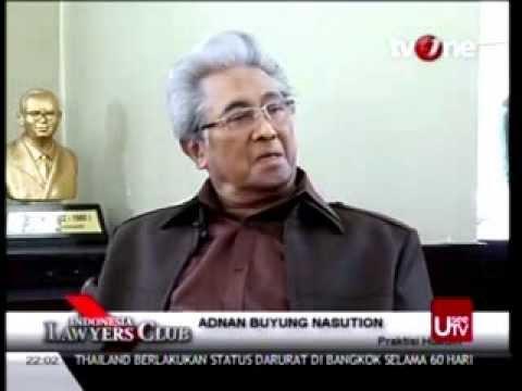 Adnan Buyung Kritisi Kinerja Komisi Pemberantasan Korupsi (KPK)