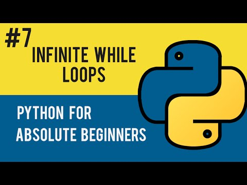 how to make an infinite loop python