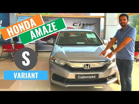 2019 Honda Amaze s variant Detailed review | Honda Amaze S model | Interior & Exterior | CarQuest