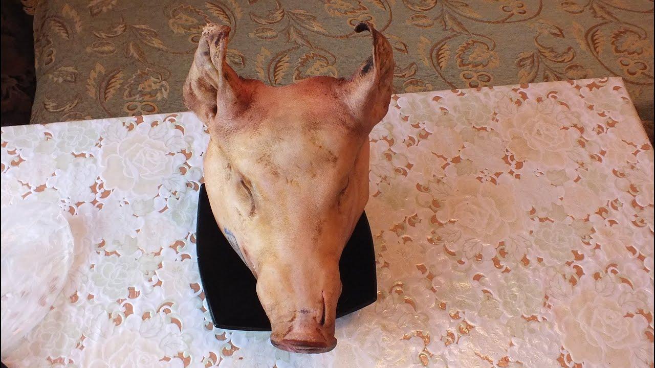 как варить холодец из головы свиной