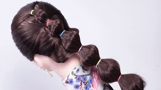 Most Beautiful Hairstyle for Wedding or party || Easy Hairstyles || Hairstyle party || hair style