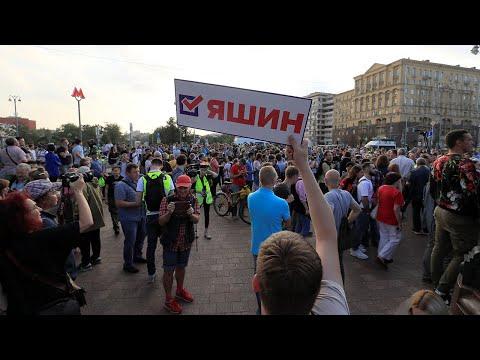 Шествие оппозиции в Москве 31 августа. Live