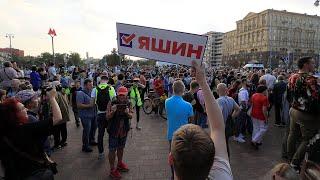 Фото Шествие оппозиции в Москве 31 августа. Live