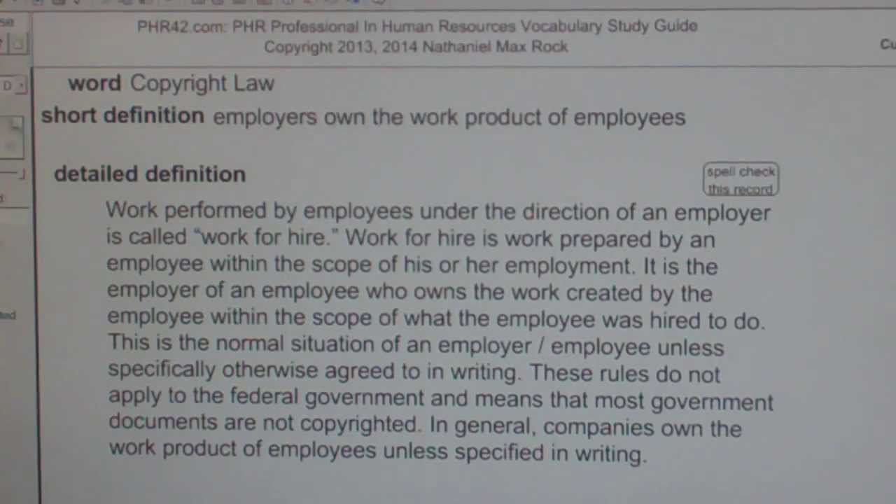 Copyright law phr sphr professional in human resources license copyright law phr sphr professional in human resources license exam vocabubee 1betcityfo Image collections
