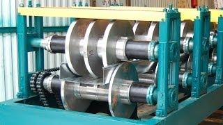 Оборудование для производства кабельных лотков(Наше предприятие производит автоматические линии для производства электрокоробов. Подробнее узнать о..., 2013-04-24T11:56:28.000Z)