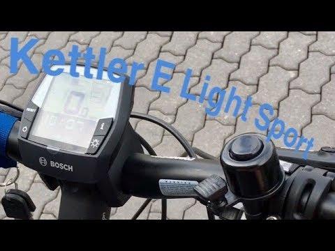 Erste Testfahrt Kettler E Light Sport!! BIKE BILD!! E-Bike-Rocker ;-) TEST