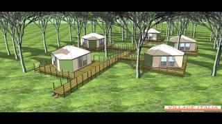 Progetto Campeggio in Pineta Orbetello