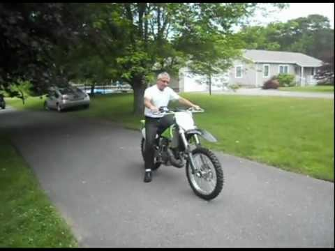 2003 Kawasaki 125 Dirtbike - YouTube