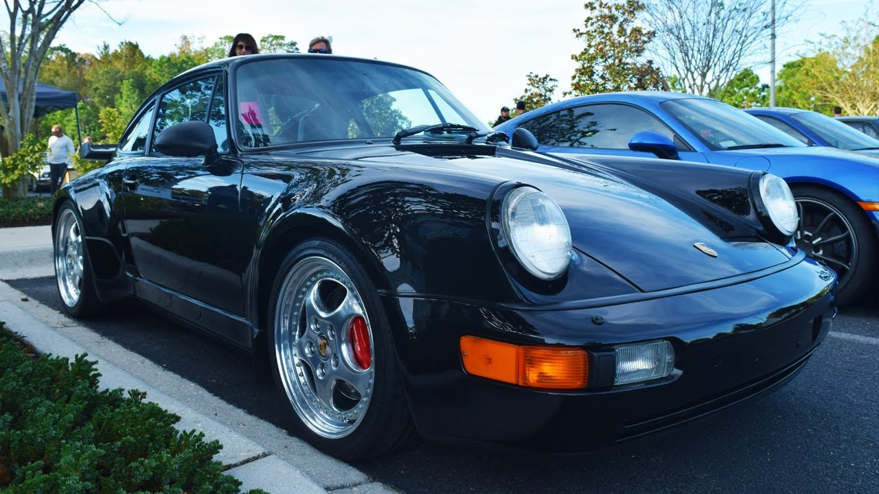 1994 porsche 911 turbo 3 6 walk around 1080p