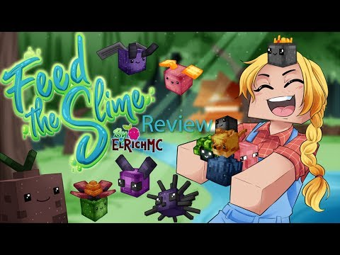 Minecraft Feed The Slime Gameplay Review