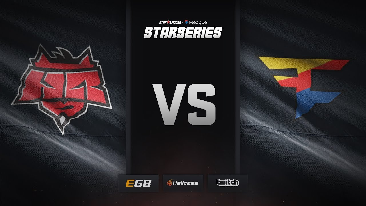 [EN] FaZe vs HellRaisers, cache, SL i-League StarSeries Season 3 Finals