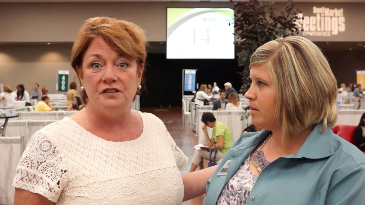 Katie Gerhard of Travel Insured International at the 2014 Small Market Meetings Conference
