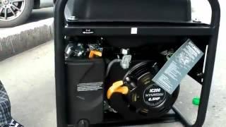 видео Бензиновый генератор 15 квт цена