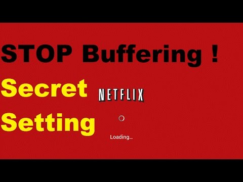 Netflix Secret Buffer and Video Sync Setting