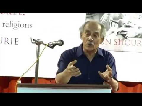 Arun Shourie speaks on - Public discourse in India today, and what we can do about it