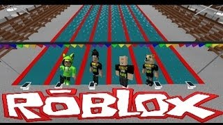 Family Game Nights Plays: Roblox - Competitive Swimming