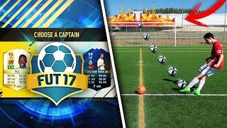 CROSSBAR FUT DRAFT CHALLENGE!!!!! | FOOTBALL vs FIFA 17