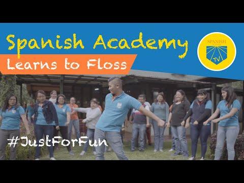 Spanish Academy Learns How To Floss | Spanish Academy TV