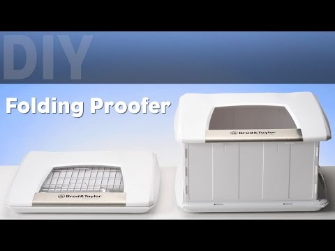 DIY Folding Proofer and Yogurt Maker