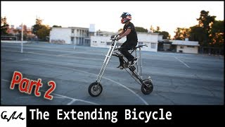 Making an extending bicycle #2