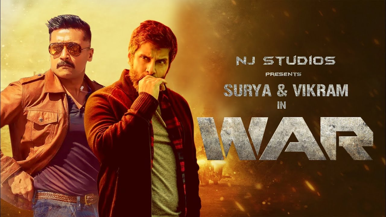 Download WAR Trailer   Vikram & Surya   Fan Made   NJ Studios