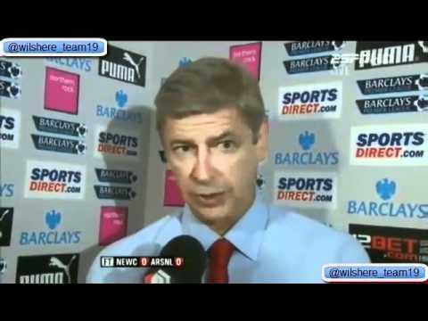 Arsene Wenger Post Newcastle 0-0