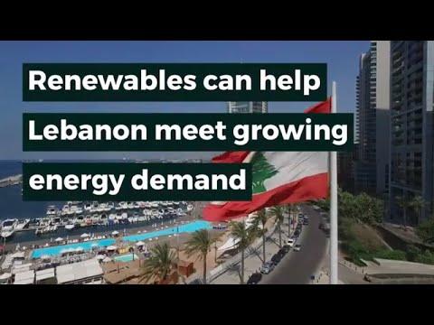 Renewables can help Lebanon meet growing energy demand