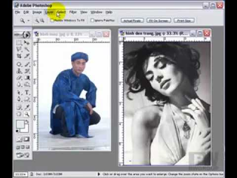 Lớp xử lý ảnh-Căn chỉnh màu photoshop http://HocPhotoshop.Com