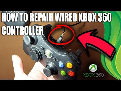 [XBOX360 ] HOW TO FIX WIRED CONTROLLER CABLE on