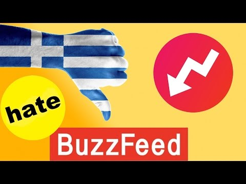 Buzzfeed Hates White Greek People !!! 100% PROOF 2017