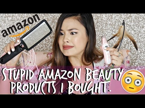 Reviewing Stupid Amazon Beauty Products I've Purchased   Most Relatable Video Ever.