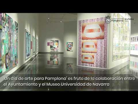 Un convenio entre el Ayuntamiento y el Museo Universidad de Navarra permite cada miércoles a los residentes en Pamplona visitar sus exposiciones de manera gratuita