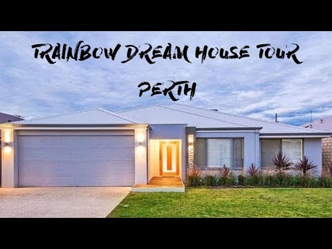 HOUSE TOUR 🏠 // Perth Rainbow Dream House 🌈