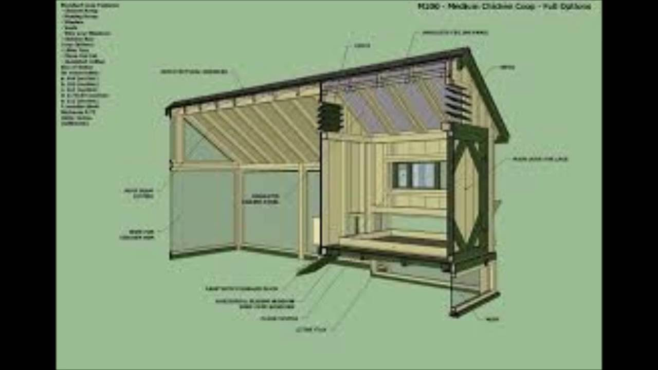 How To Build A Simple Poultry House - How To Build A ...