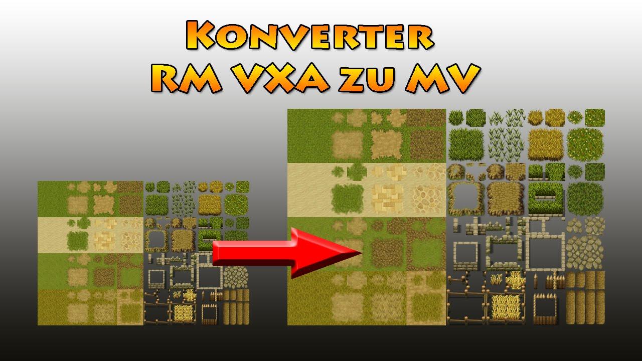Gut bekannt VX(Ace) Tilesets zu MV konvertieren (Photoshop) - Tutorial RPG  SY73