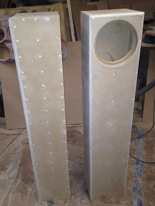 Building A Tl Transmission Line Design Enclosure Box For 8