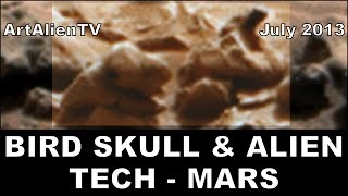 Bird Skull & Alien Technology MARS. ArtAlienTV - 1080p